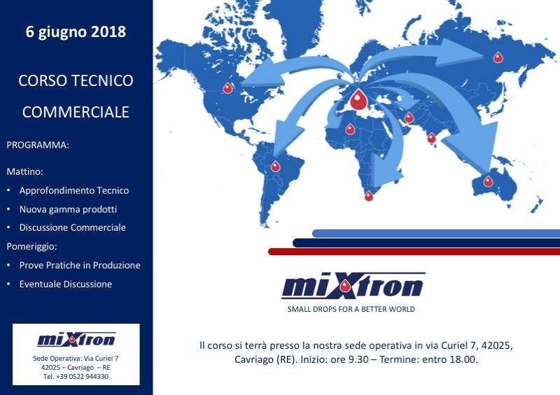 Mixtron - Corso Tecnico Commerciale 2018