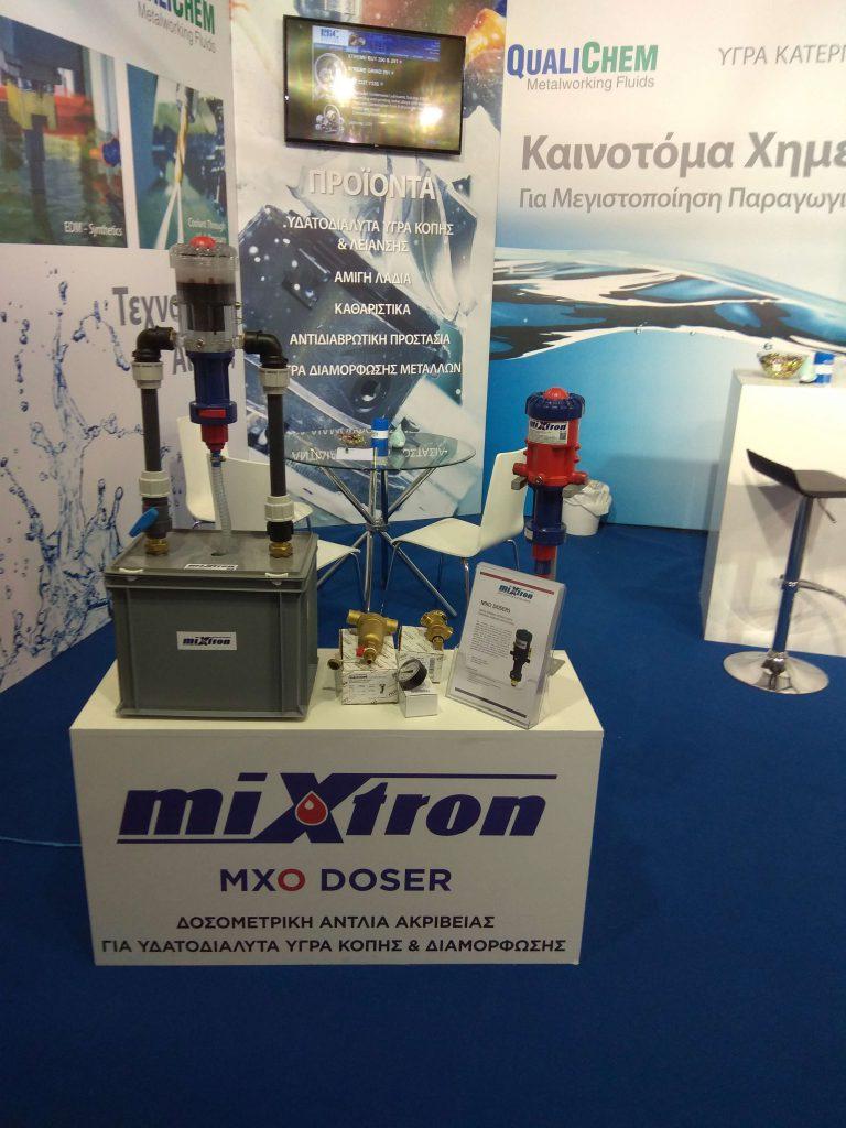 Mixtron - Metal Machinery Expo 2018 Atene