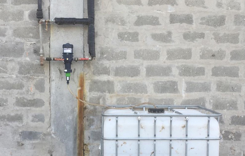 Dosatore a Muro