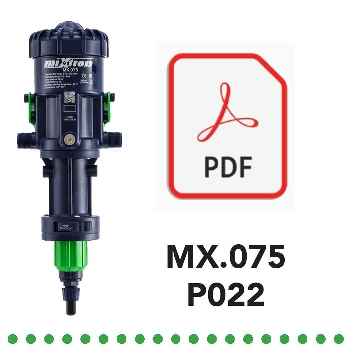 Dosatore Volumetrico Proporzionale MX075