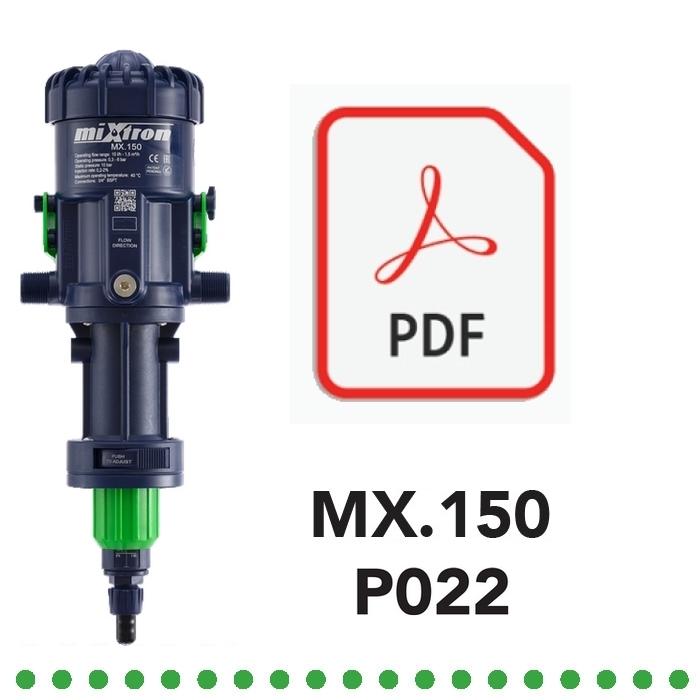 Dosatore Volumetrico Proporzionale MX150