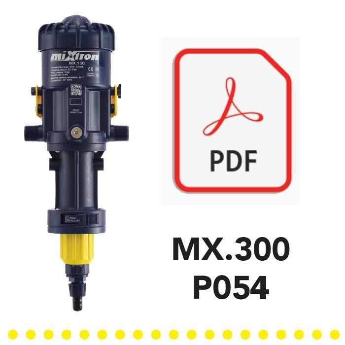 Yellow-Model-MX300-P